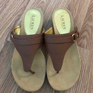 Ralph Lauren Sandals Size 8